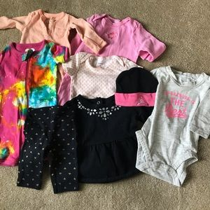 Lot of infant clothing